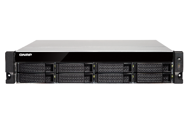QNAP, TS-873U-RP-8G, 8-bay, rackmount, NAS, AMD, RX-421ND, 4-core, 2.1GHz, up, to, 3.4GHz, 8GB, DDR4, RAM, (max, 64GB), 2y, AR, wty, (no,
