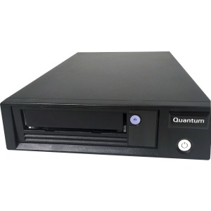 Quantum, LTO-8, Tape, Drive, Half, Height, Internal, 6Gb/s, SAS, 5.25, Black, Bare,