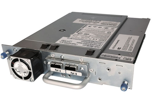 Quantum, Scalar, i3, IBM, LTO-8, Tape, Drive, Module, Half, Height, 6Gb, SAS, Single, mini-SAS-HD, 8644, Port,