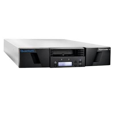 Quantum, SuperLoader, 3, one, LTO-7HH, tape, drive, Model, C, eight, slots, 6Gb/s, SAS, rackmount, barcode, reader, (NAM/APAC/LAM),