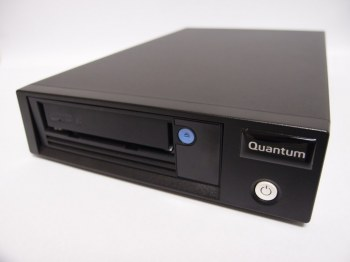 Quantum, LTO-6, Tape, Drive, Half, Height, Tabletop, 6Gb/s, SAS, Black.,