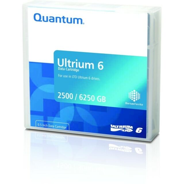 Quantum, Data, Cartridge, LTO, Ultrium, 6, (LTO-6), 2.5TB, Native,