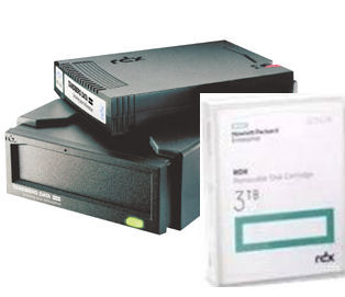 Tandberg, RDX, Drive, External, USB, 3.0, Plus, 4, x, HPE, 3TB, Drives,