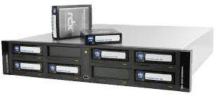 Tandberg, RDX, QuikStation, 8, RM, 8-bay, 2x, 10Gb, Ethernet, 2U, rackmount,