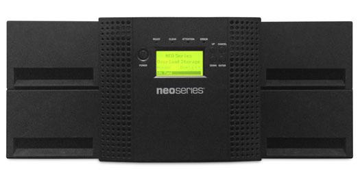 NEOs, T48, 4u/48-slot/1-LTO7, Fiber, Channel, Tape, Autoloader,