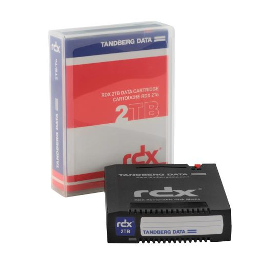 Tandberg, RDX, 2TB, Cartridge, (single),