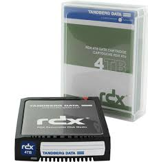 Tandberg, RDX, 4TB, Cartridge, (single),