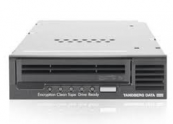 Tandberg, LTO-7, HH, -, Internal, bare, drive, black, SAS,