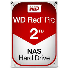 WD, Red, Pro, WD2002FFSX, 2TB, SATA3, Hard, Drive, for, 8, to, 16-bay, Network, Attached, Storage,