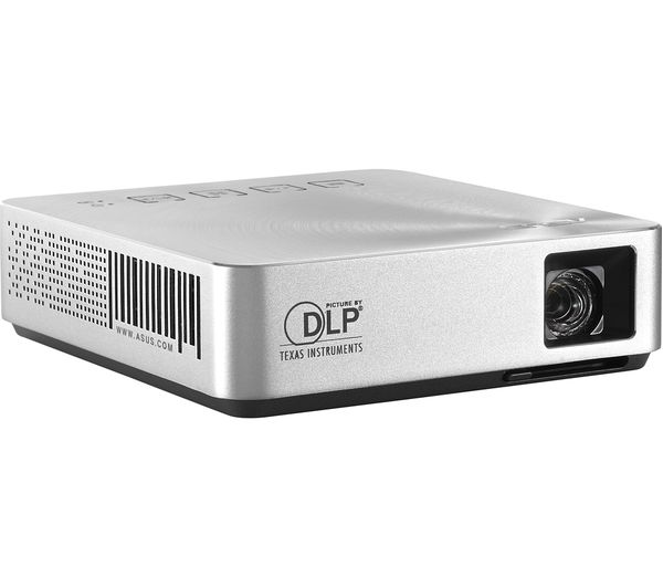 ASUS, S1, Portable, LED, Projector, 200, Lumens, 3hr, Battery,