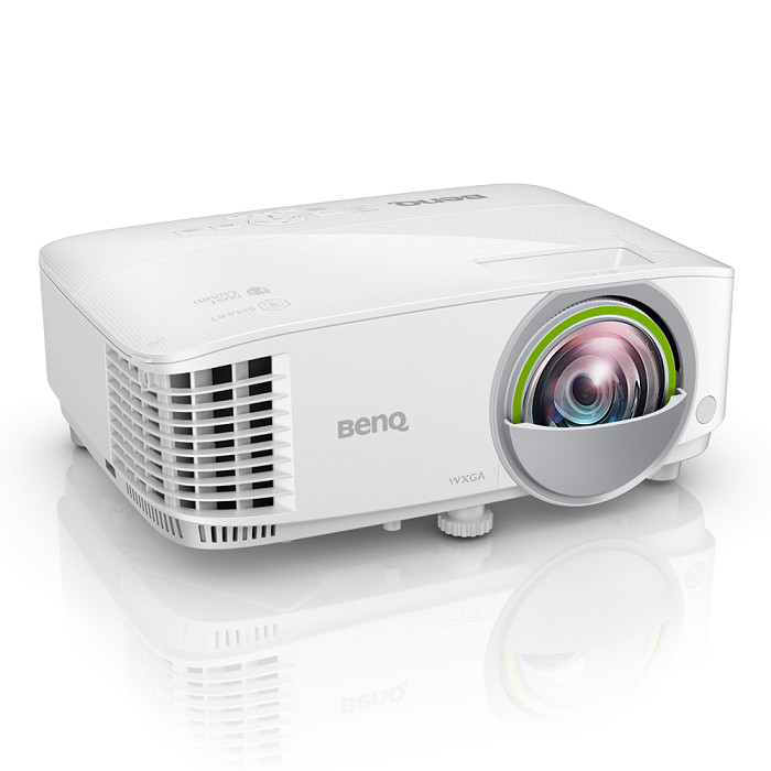BenQ, EW800ST, Short, Throw, DLP, Smart, Projector, w/, BONUS, Webcam, +, Wireless, Keyboard, and, Mouse, -, WXGA/, 3300ANSI/, 20, 000:1/, H,