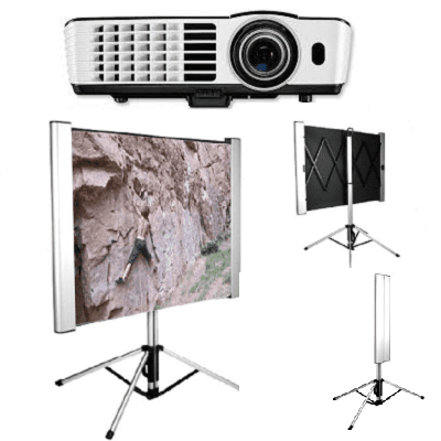 High, Def, Short, Throw, Business, Projector, and, 1.8m, wide, Ultra, Portable, Screen,