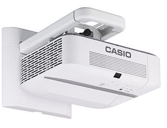 CASIO, XJ-UT310WN, 3100, Lumen, WXGA, UST, Projector, +, Wall, Mount, +, WiFi,