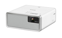 Epson, EF-100W, WXGA, 2000, Lum, Laser, Portable, Home, Theatre, Projector, -, White,