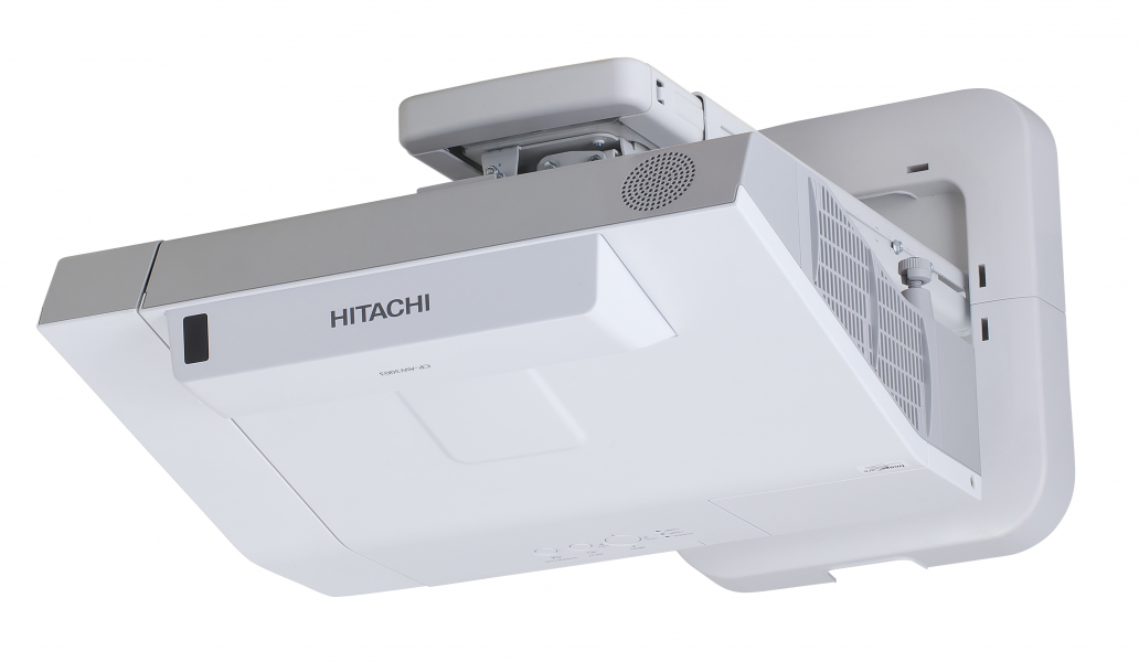 Hitachi, CP-TW3506, 3800, Lumen, WXGA, 16:10, Interactive, UST, with, Wall, Mount, and, Finger, Touch,