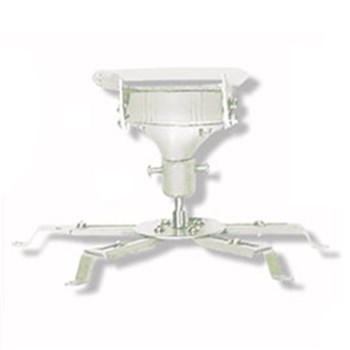 UNIVERSAL, PROJECTOR, CEILING, MOUNT, -, WHITE, 140MM, DROP, 20KG, MAX,