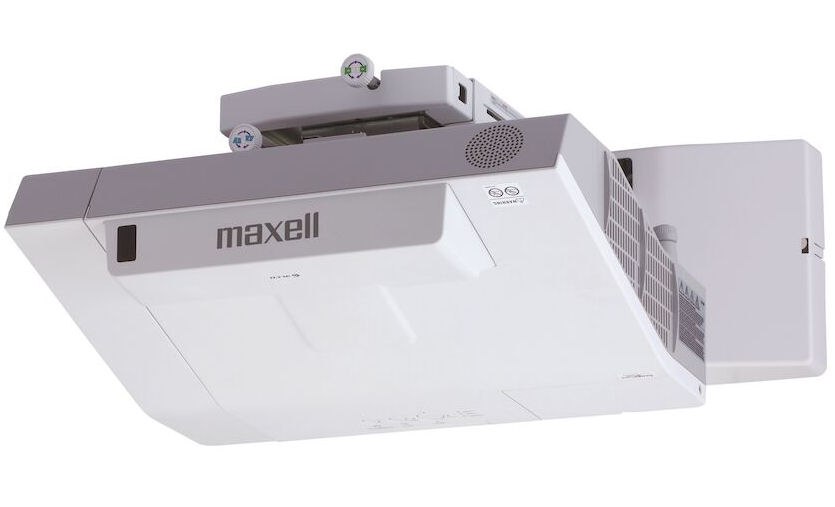 Maxell, MCAX3506, XGA, 3600, ANSI, Lumen, UST, Projector, with, Wall, Mount,