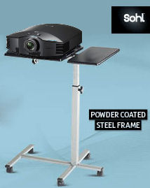 Sohl, Projector, -, Laptop, Table, Stand, with, wheels,