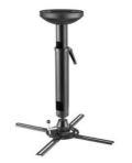 Q-Tee, Ceiling, Projector, Mount, Bracket, 82-120cm, Up, to, 30KG, -, Black,