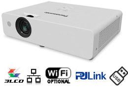 Panasonic, PT-LW373, 3600, ANSI, WXGA, LCD, Data, Projector,
