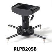 RedLeaf, -, RLPB205B, -, Flush, Black, Ceiling, Mount, -, 18cm,