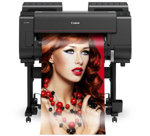 Large Format - A1/Canon: Canon, iPF, PRO-2000, 24, A1, 12, Colour, Graphics, Printer,