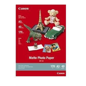 Canon, 40Sheet, A3, Matt, Photo, Paper, 170GSM, MP101A3,