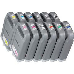 Ink Cartridges/Canon: , Canon, PFI-1700, set, of, 12, x, 700ml, inks, for, iPF, Pro, range,