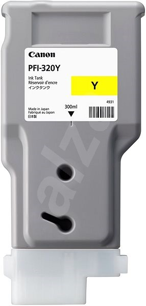 Canon, PFI-320Y, YELLOW, INK, FOR, TM, RANGE, -, 300ML,