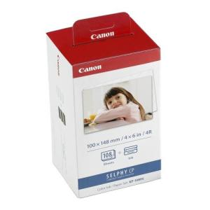 CANON, INK, &, PAPER, KP-108IN, POSTCARD, SIZE, 148X100MM, SUIT, CP100,