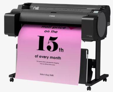 Canon, IPF, GP-300, A0, 36, 6, ink, Colour, Poster, Printer,