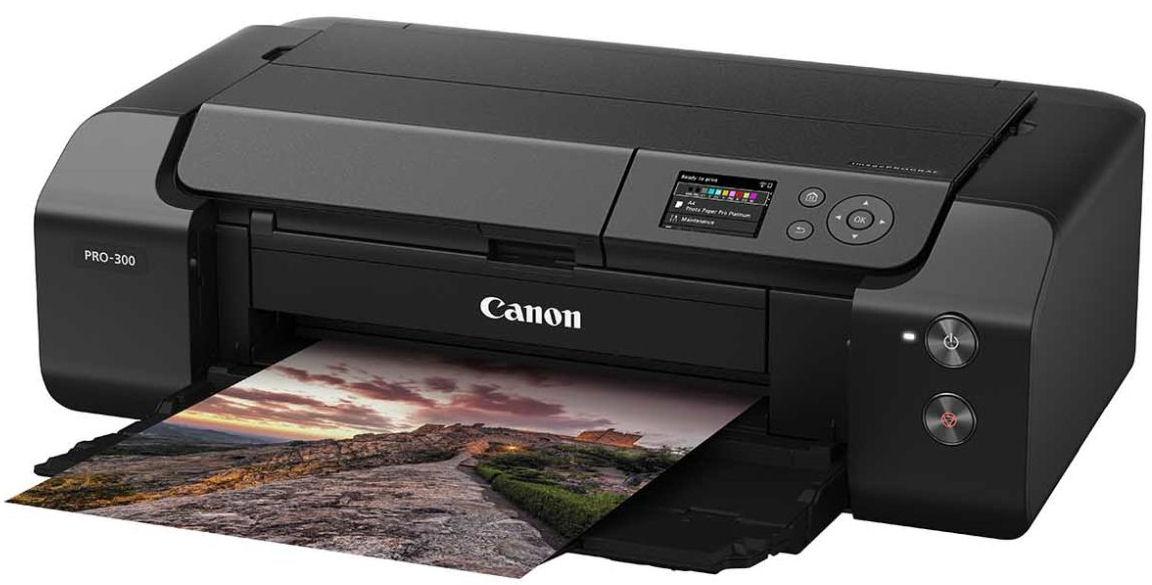 Canon, PRO300, 10, Ink, A3, Plus, Professional, Inkjet, Graphics, Printer,