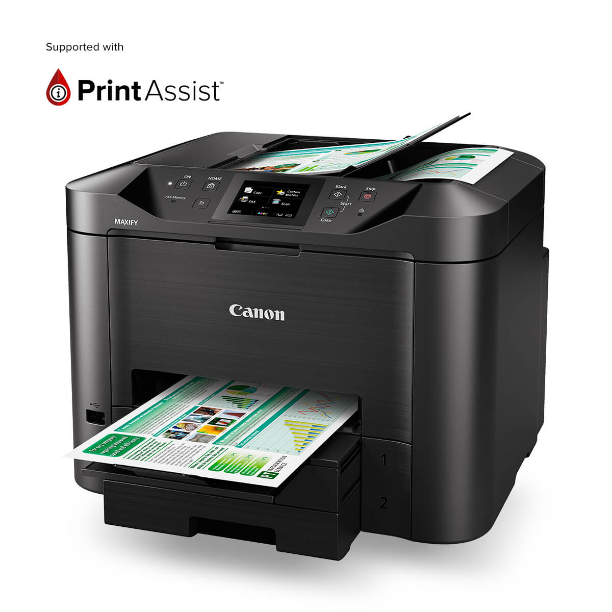 Canon, Office, MAXIFY, MB5460,
