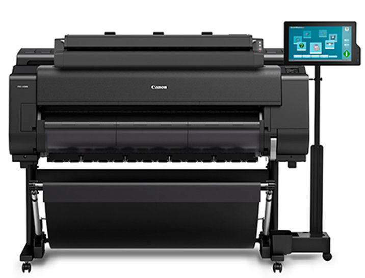 Canon, iPF, PRO-4100S, T36, 44, B0, 8, ink, Graphics, Printer, plus, Scanner,