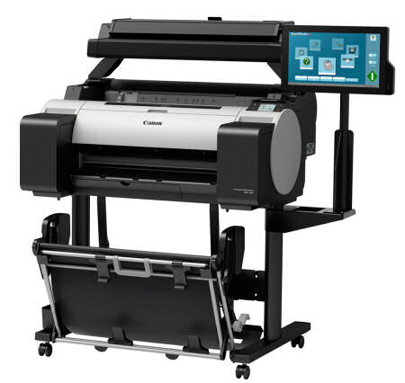 A1 Wide Format/Canon: Canon, iPF, TM-205, 24, A1, 5, Colour, Printer, with, Scanner, AIO, plus, BONUS,