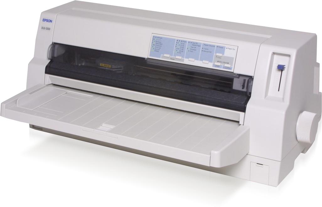 Epson, DLQ-3500, 24, Pin, 136, Column, Dot, Matrix, Printer,