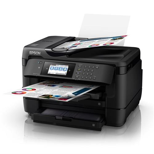 EPSON, WORKFORCE, WF-7725, 4, CLR, MULTIFUNCTION, INKJET, PRINTER,
