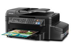 Epson, Ecotank, WF, ET-4550, A4, Colour, Multifunction, Inkjet, Printer,