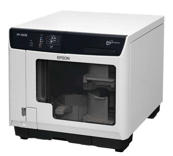 EPSON, PP-100III, DISCPRODUCER, PROF, DT, CD/DVD, DISC, PUBLISHING, SYSTEM, SUPP, BURRING, BLU-RAY,