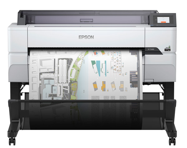 Large Format - A0/Epson: Epson, SureColor, T5460, 36, A0, 4, Ink, Large, Format, Printer, plus, Bonus,
