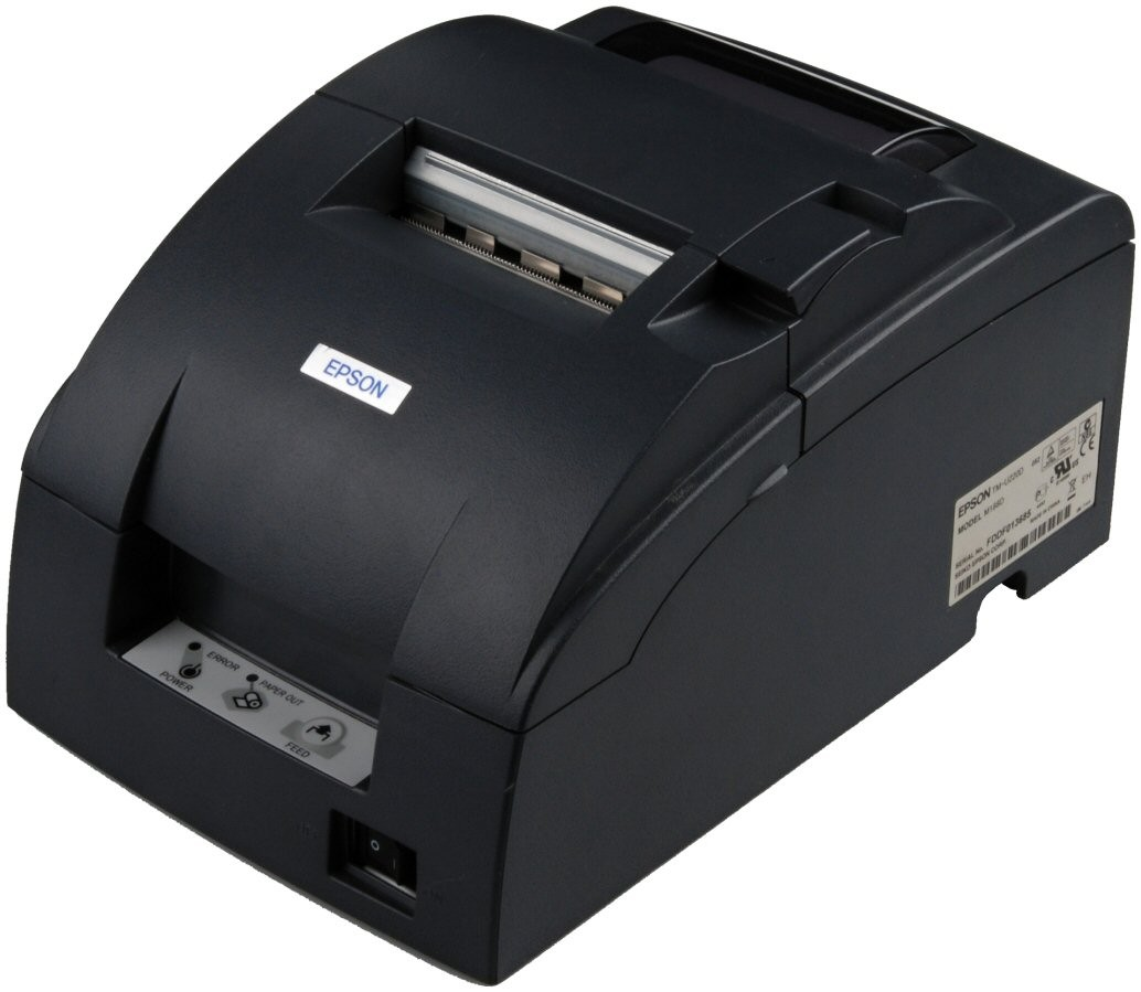 Epson, T-MU220B, USB, CHARCOAL, POS, Printer,