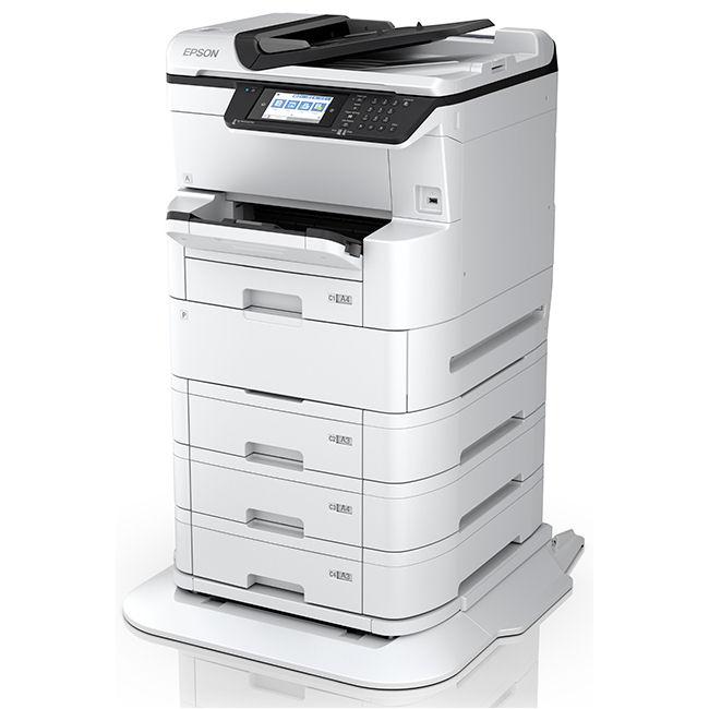 Inkjet - MFP A3/Epson: EPSON, Workforce, Pro, WF-C878RTC, A3, 25ppm, Inkjet, MFP,
