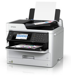 Inkjet - MFP A4/Epson: EPSON, Workforce, PRO, WF-C5790, A4, Colour, Inkjet, MFP,