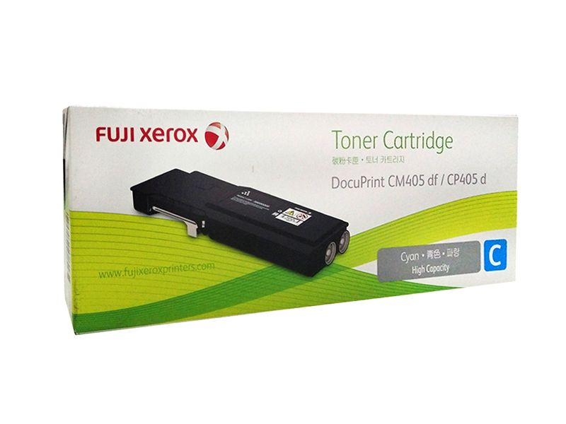 Fuji, Xerox, CT202034, 11K, Page, Cyan, Toner, for, DOCUPRINT, CP405D, CM405DF,