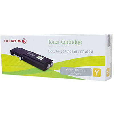 Fuji, Xerox, Yellow, TONER, 11K, FOR, DOCUPRINT, CP405D, CM405DF,