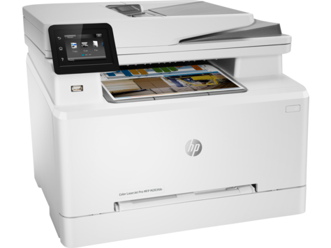 HP, Colour, A4, Laserjet, Pro, 21ppm, MFP, M283FDN, Printer,