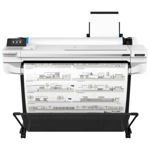 HP, DesignJet, T530, 36-in, A0, 4, ink, Printer, plus, Bonus,