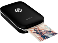 HP, SPROCKET, PHOTO, PRINTER, (BLACK),
