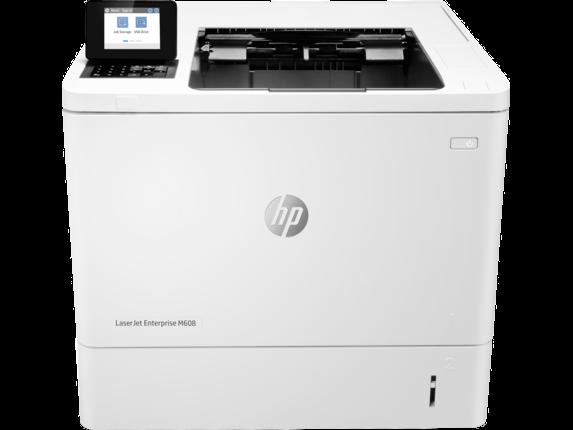 Hewlett-Packard, LASERJET, ENTERPRISE, M608N, PRINTER, +, 3YR,