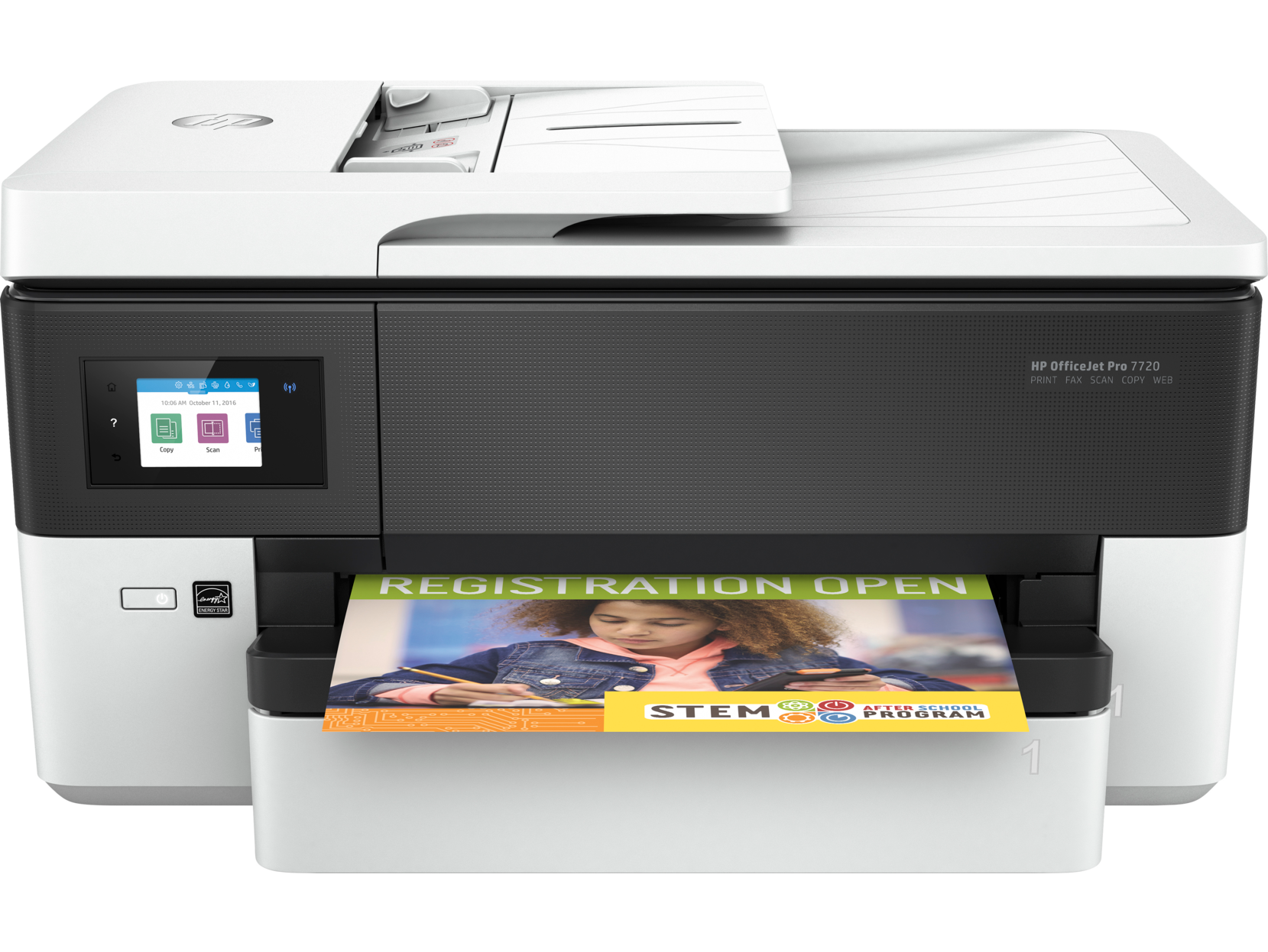 Hewlett-Packard, OFFICEJET, PRO, 7720, 10ppm, WIDE, FORMAT, PRINTER,